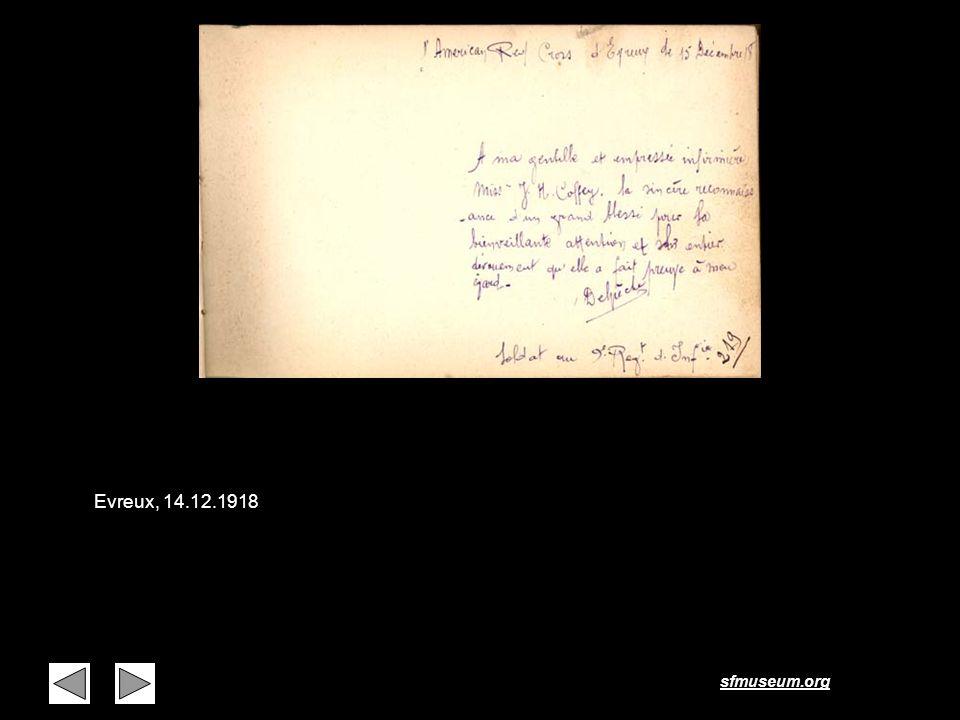 sfmuseum.org Page 13 Evreux, 14.12.1918
