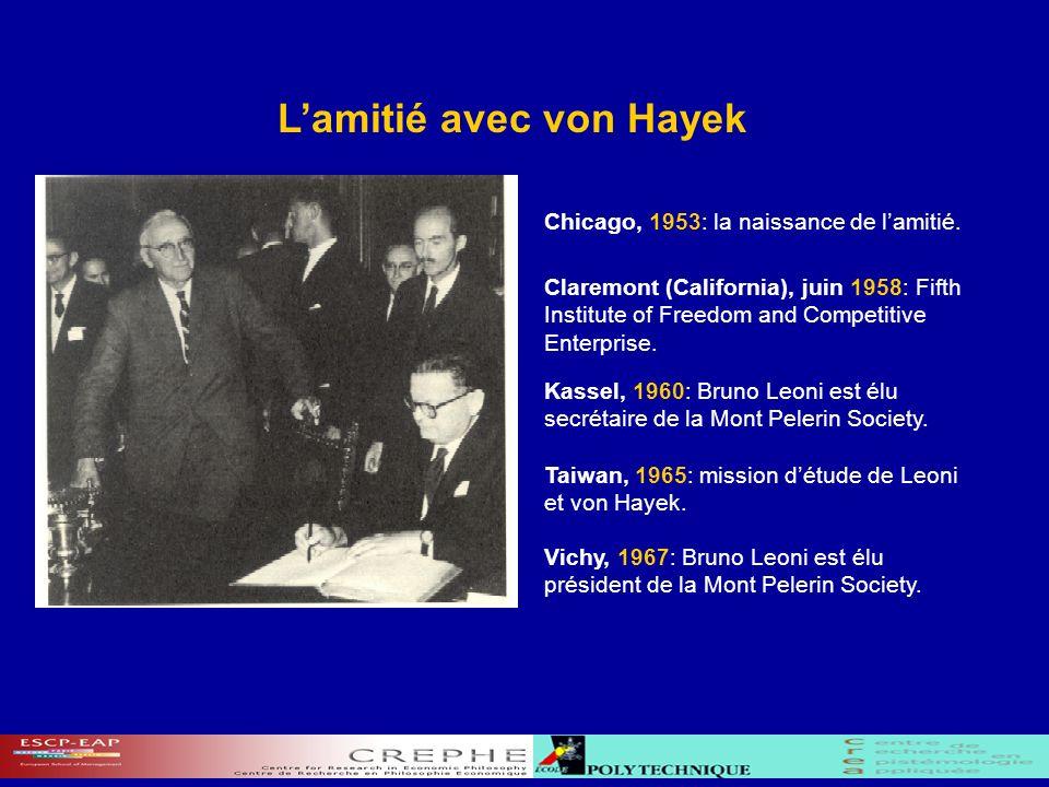 1 ère phase (1938-1942): la science du droit 2 ème phase (1946-1953): histoire et méthodologie de la science