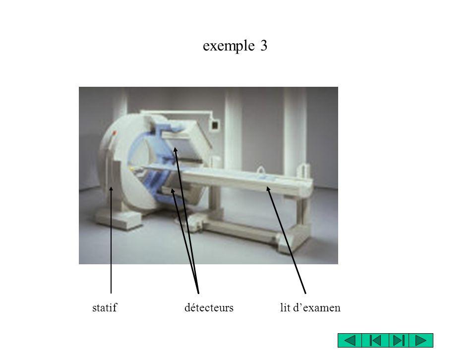 statif détecteurs lit dexamen exemple 3
