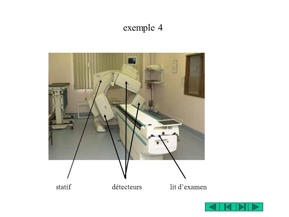 statif détecteurs lit dexamen exemple 4