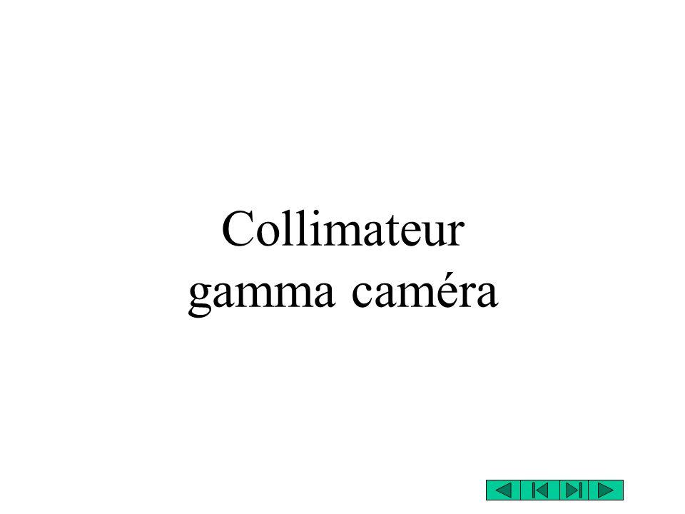 Collimateur gamma caméra