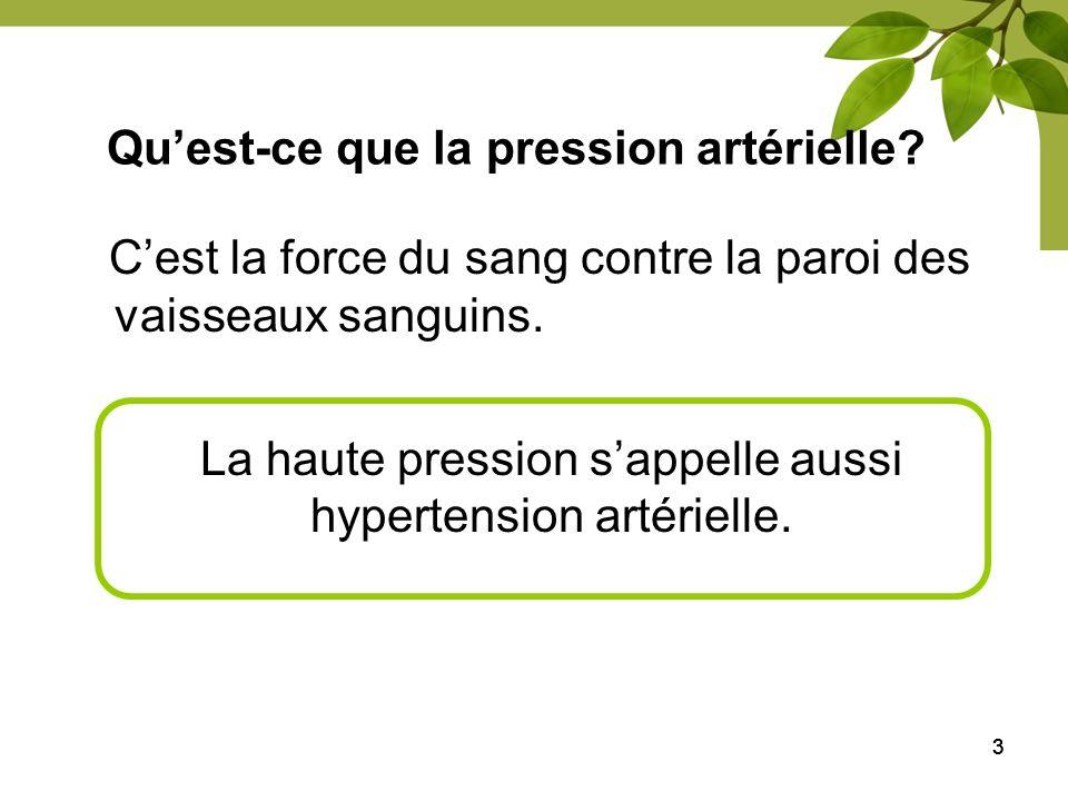 444 Pression artérielle (PA) cible Programme éducatif canadien sur lhypertension Association canadienne du diabète PA Moins de 130 80 mm Hg