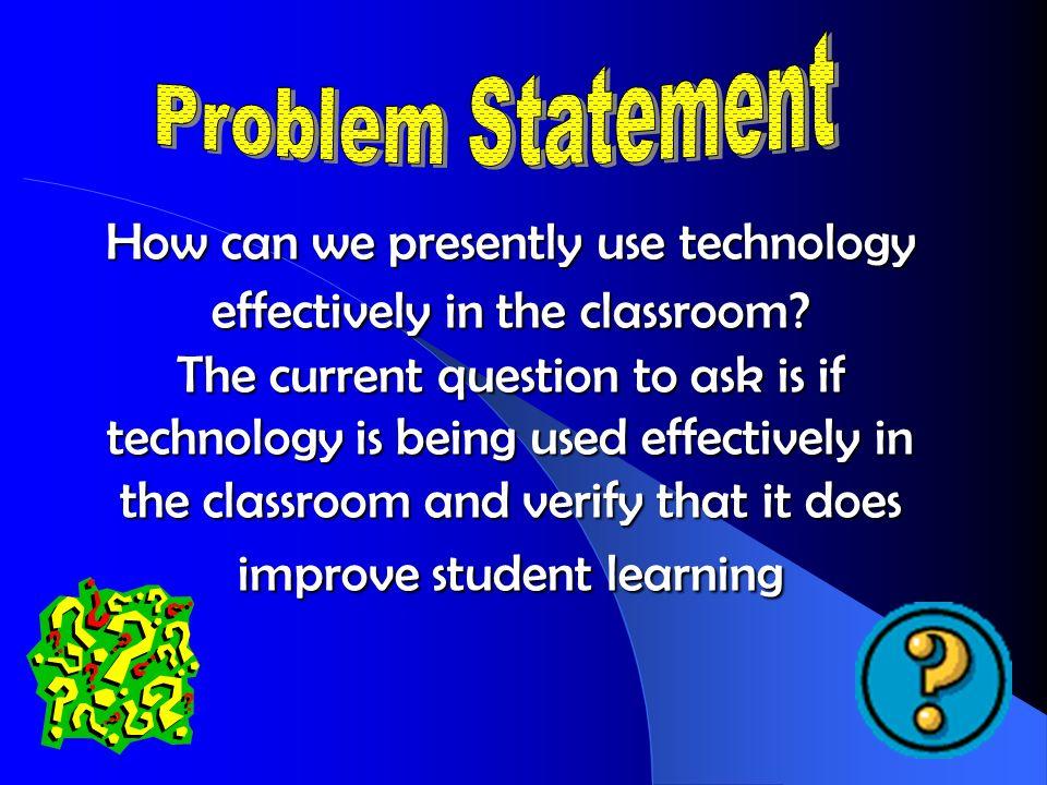 Technology use of teachers August-November