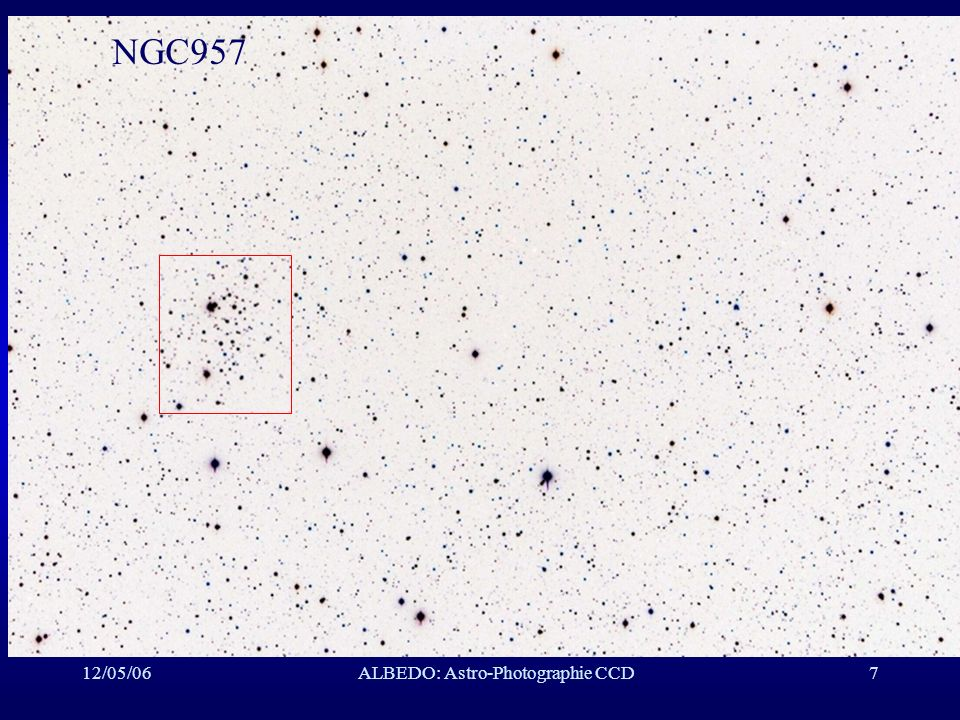 12/05/06ALBEDO: Astro-Photographie CCD8 NGC957 Détail