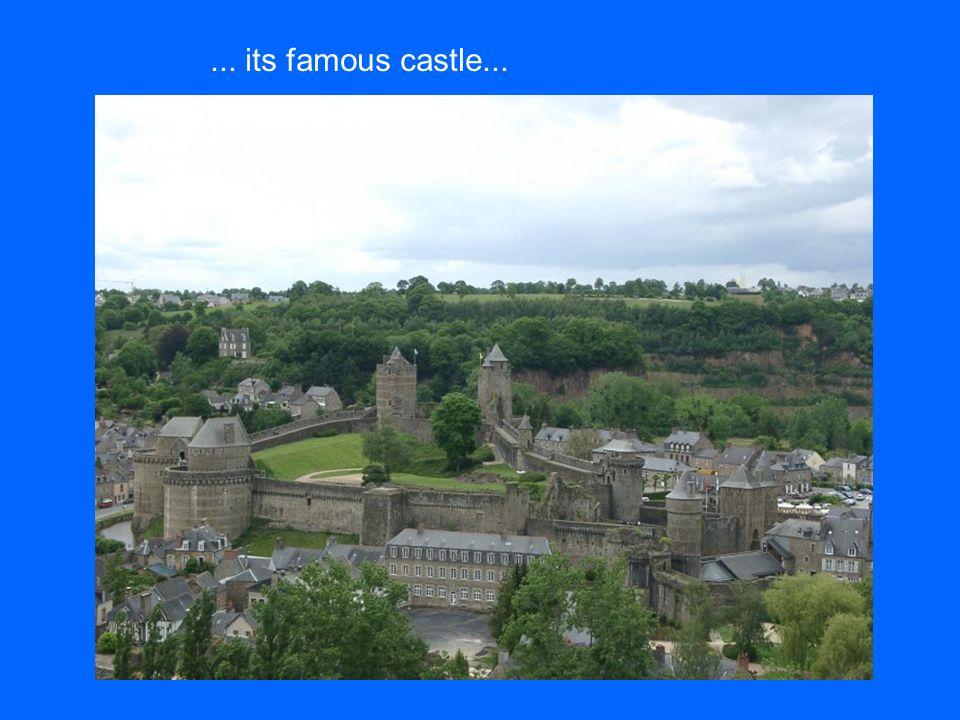 its famous castle...