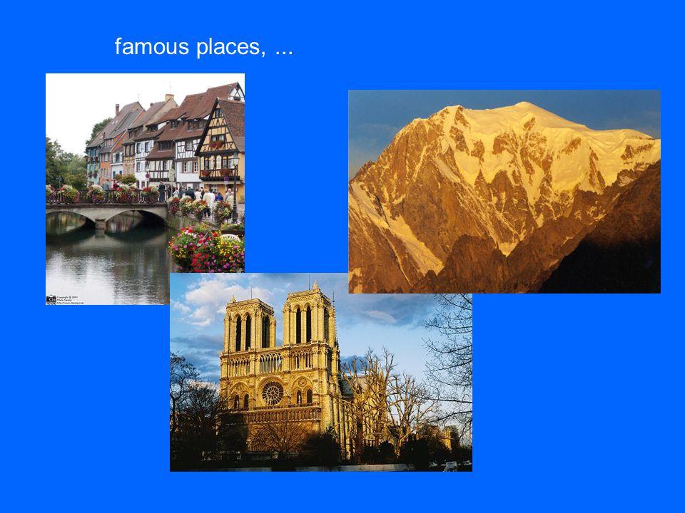 famous places,...