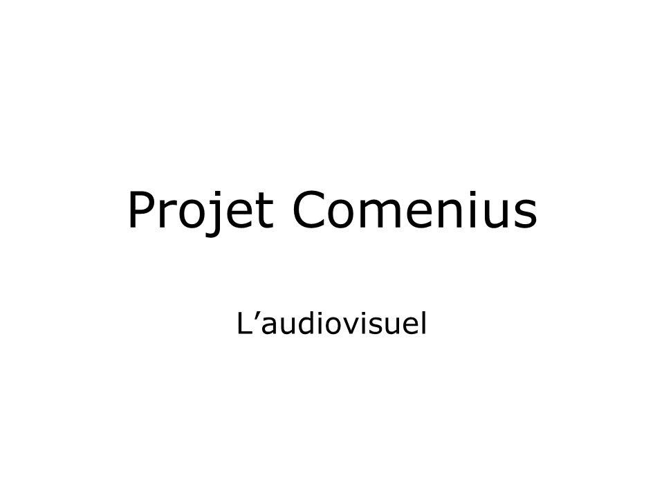 Projet Comenius Laudiovisuel