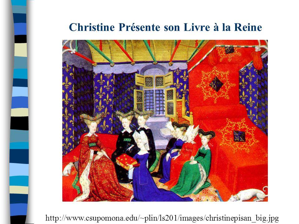 Christine Présente son Livre à la Reine http://www.csupomona.edu/~plin/ls201/images/christinepisan_big.jpg