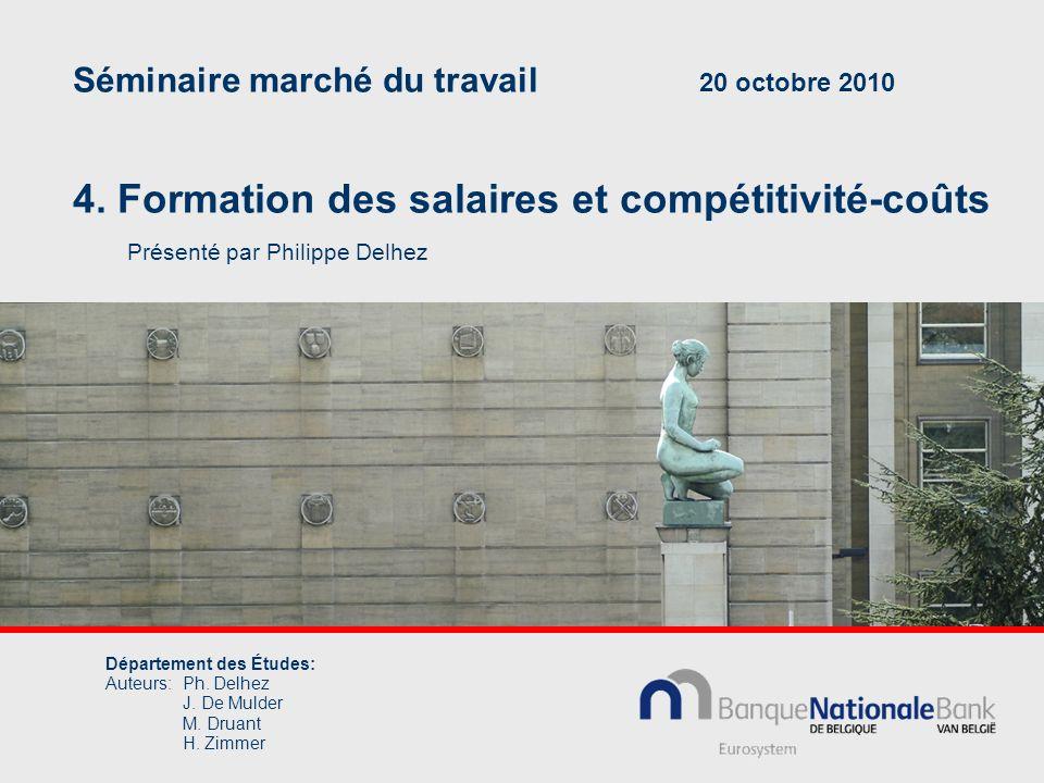 Séminaire marché du travail 20 octobre 2010 4.