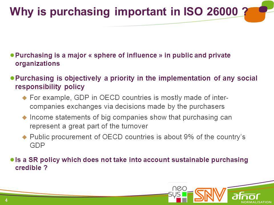 1 / Pour personnaliser les références : Affichage / En-tête et pied de page Personnaliser la zone Pied de page, Faire appliquer partout 4 Why is purchasing important in ISO 26000 .