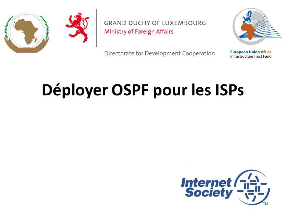 Déployer OSPF pour les ISPs 1