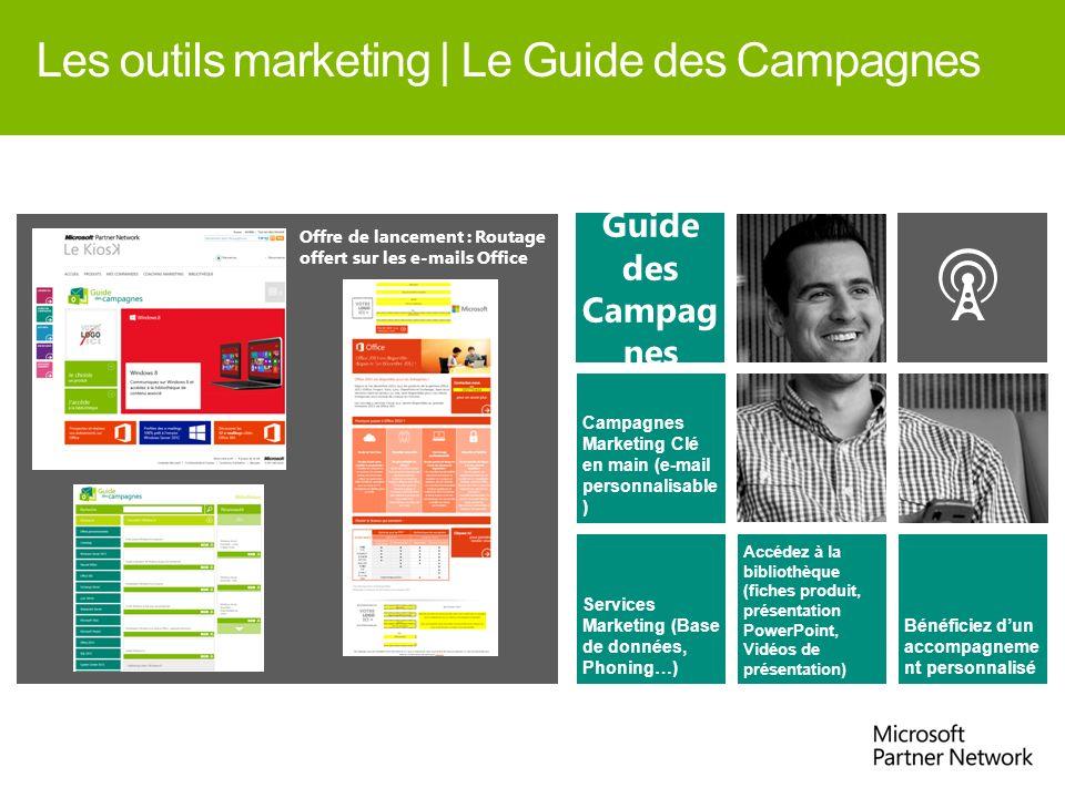 Campagnes Marketing Clé en main (e-mail personnalisable ) Services Marketing (Base de données, Phoning…) Accédez à la bibliothèque (fiches produit, pr