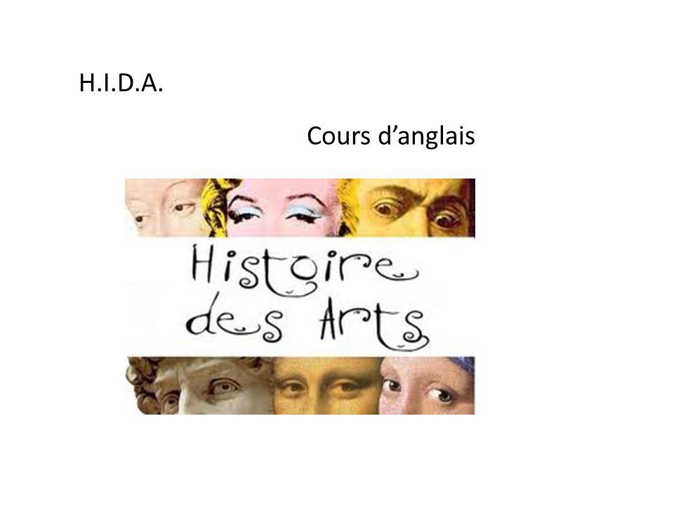 H.I.D.A. Cours danglais