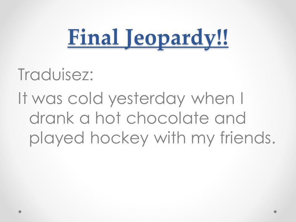 Final Jeopardy!.