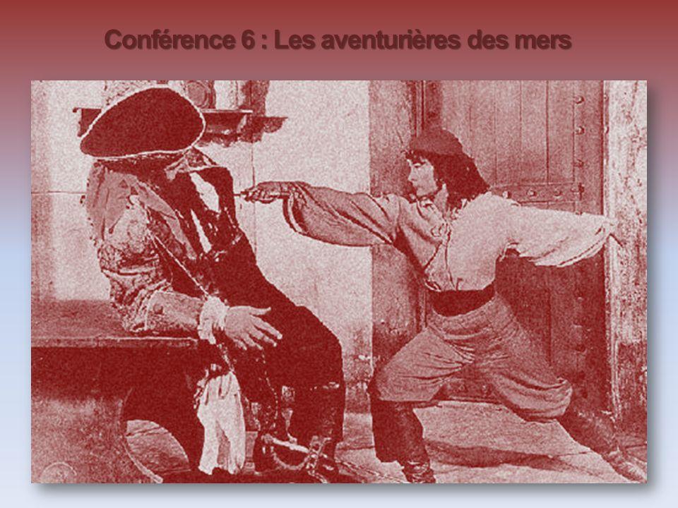Conférence 6 : Les aventurières des mers