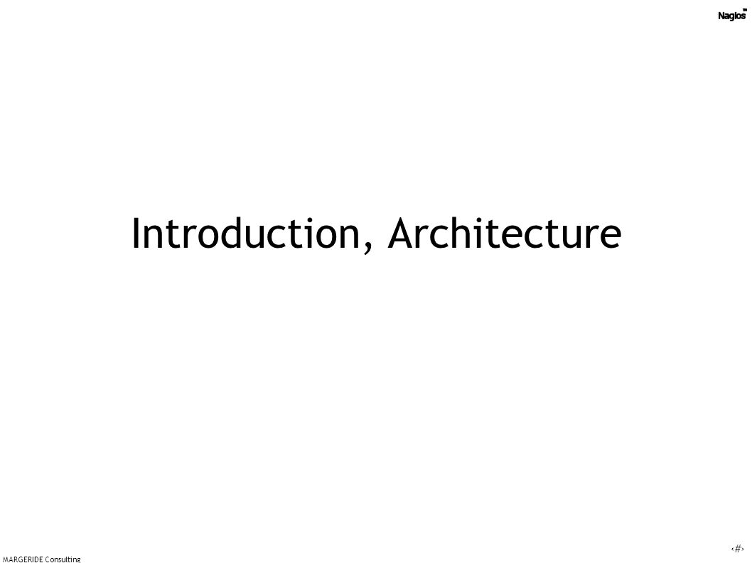 13 MARGERIDE Consulting Plugins architecture
