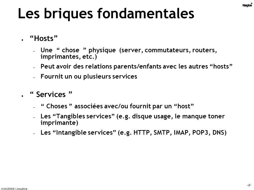 19 MARGERIDE Consulting Host Route Vérification Les relations logiques entre host - Le monde selon Nagios