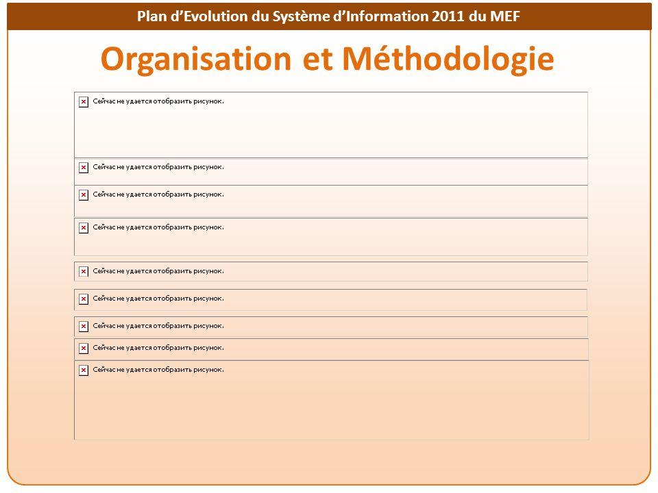 Plan dEvolution du Système dInformation 2011 du MEF Organisation et Méthodologie