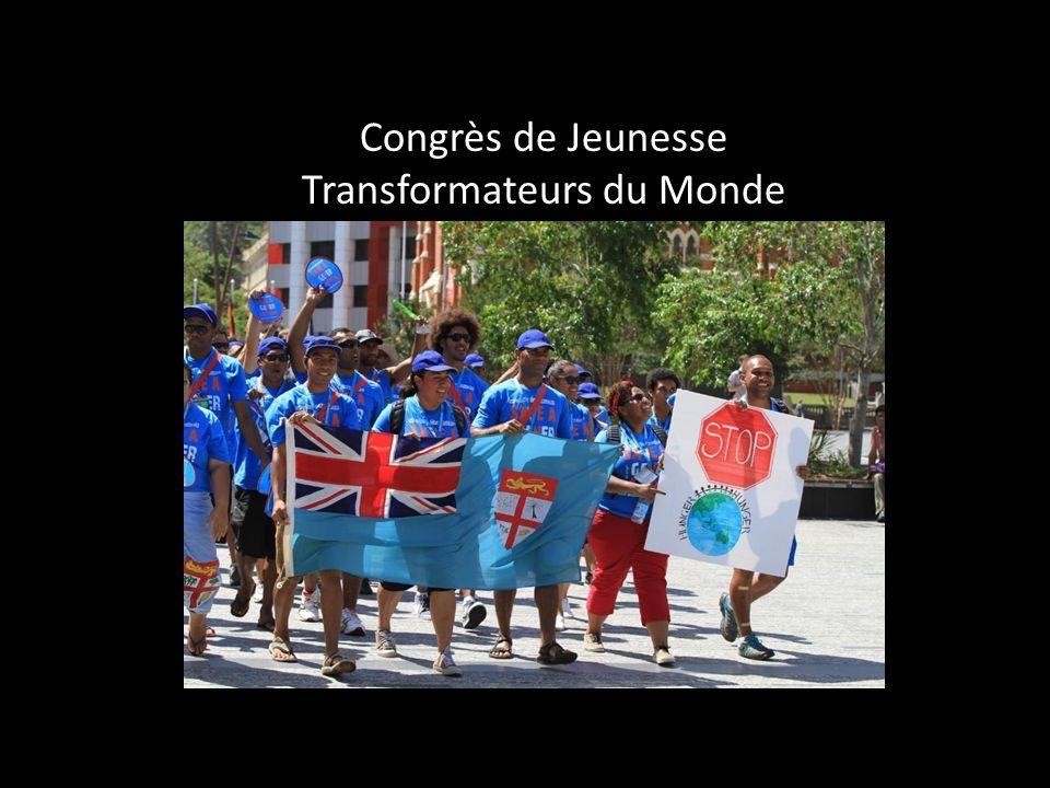 Congrès de Jeunesse Transformateurs du Monde