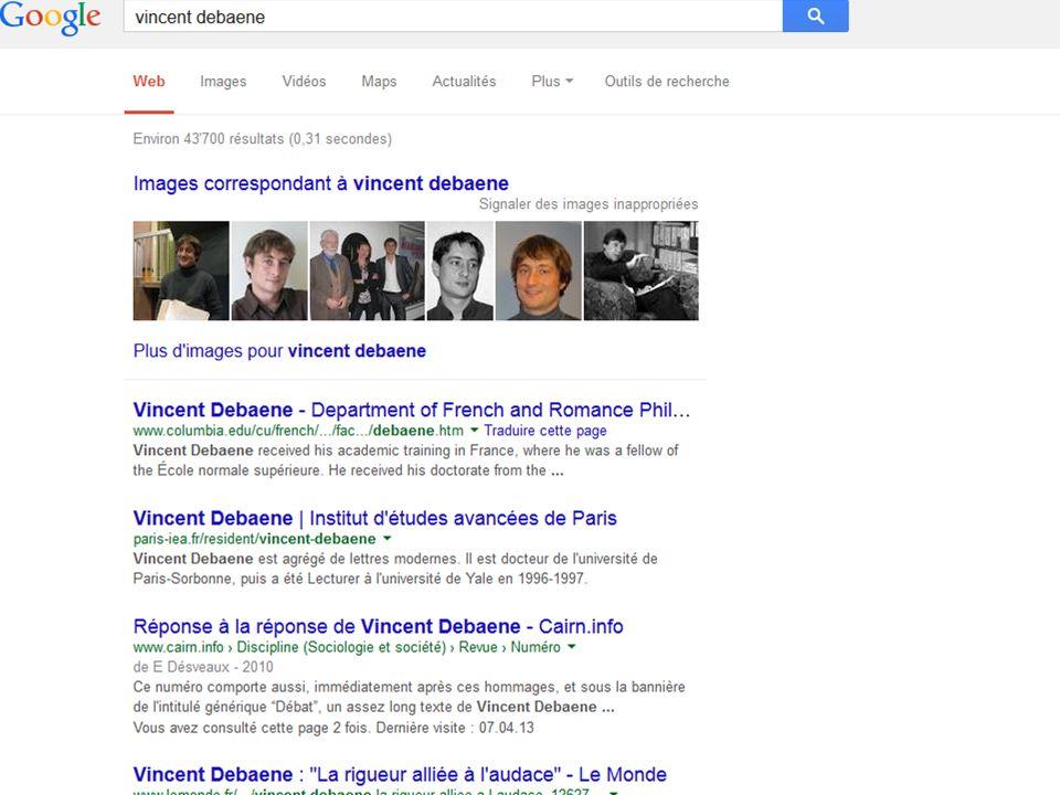 Autres moteurs de recherche Il ny a pas que google dans la vie … Duckduckgo http://www.unine.ch/bibliotheque18