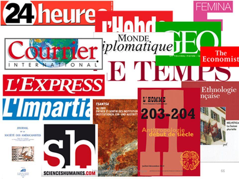66http://www.unine.ch/bibliotheque