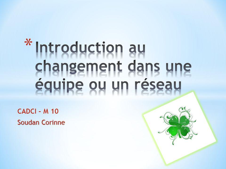 La recristallisation – Colerette Pierre – 1995 1.Éveil : pression pour changer 2.