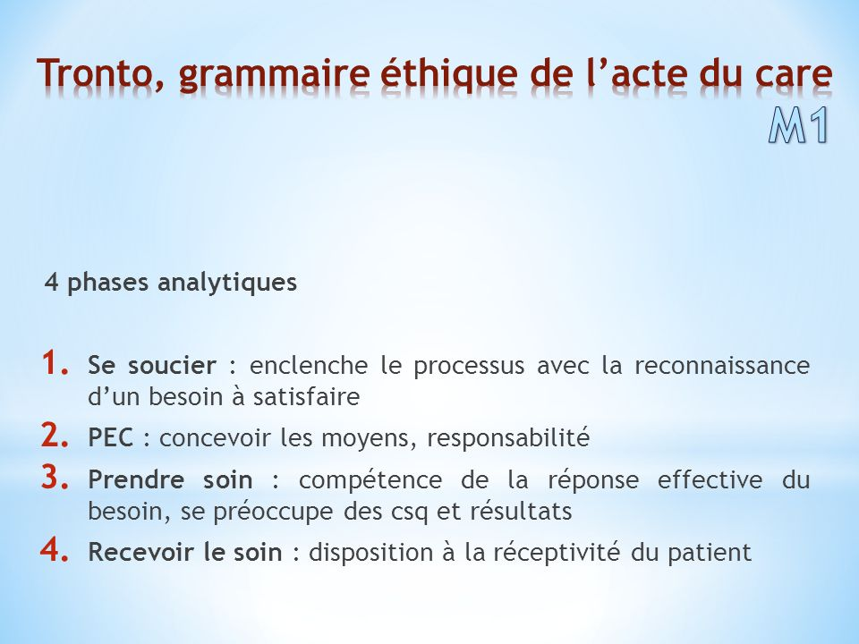 4 phases analytiques 1.