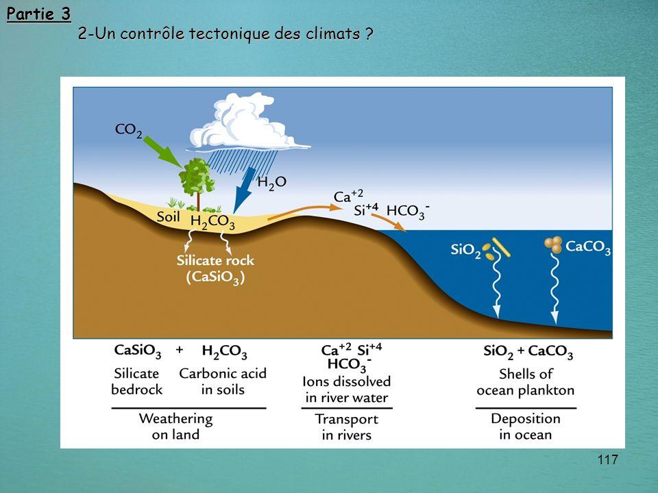 117 Partie 3 2-Un contrôle tectonique des climats ? 2-Un contrôle tectonique des climats ?