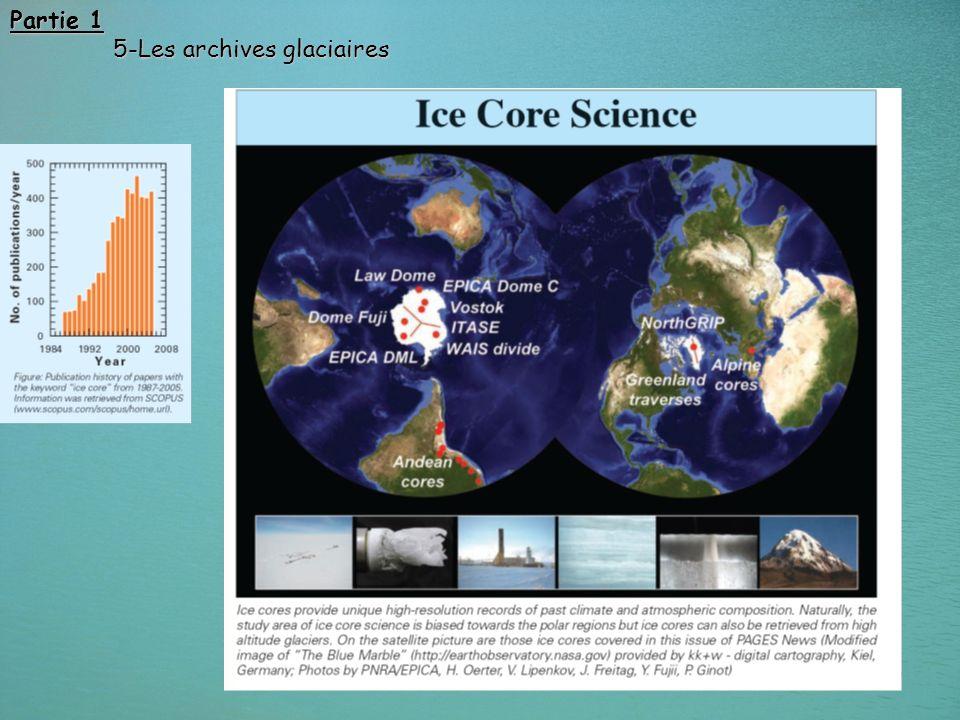 48 Partie 1 5-Les archives glaciaires 5-Les archives glaciaires
