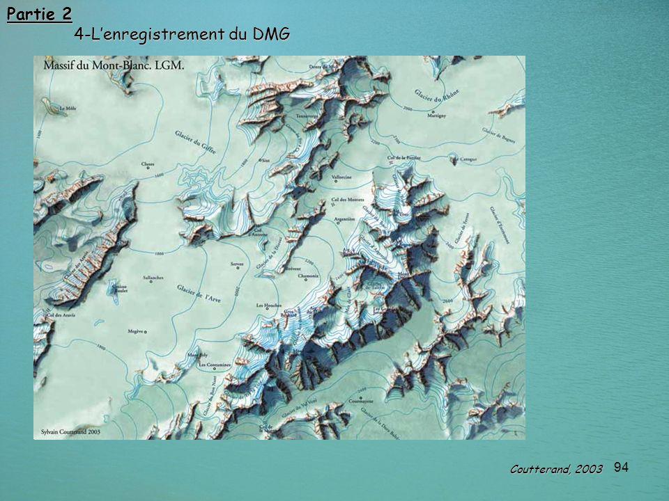 94 Partie 2 4-Lenregistrement du DMG Coutterand, 2003