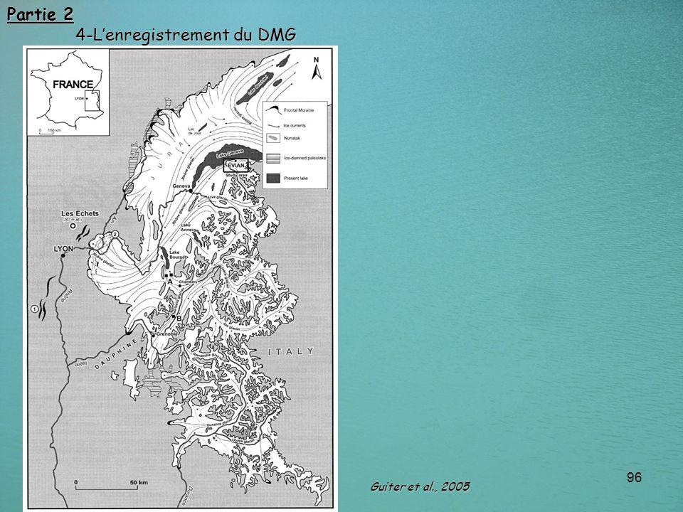 96 Partie 2 4-Lenregistrement du DMG Guiter et al., 2005