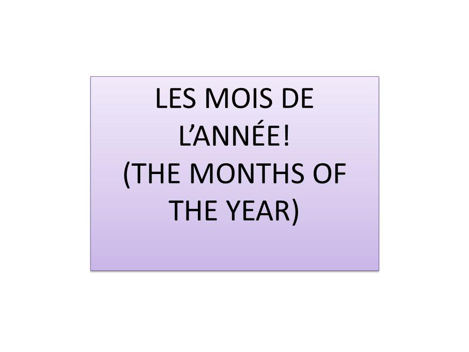 Les saisons de lannée… (the seasons of the year) Les saisons de lannée… (the seasons of the year) Lhiver Le printemps Lété Lautomne TO COPY IN YOUR BOOK.