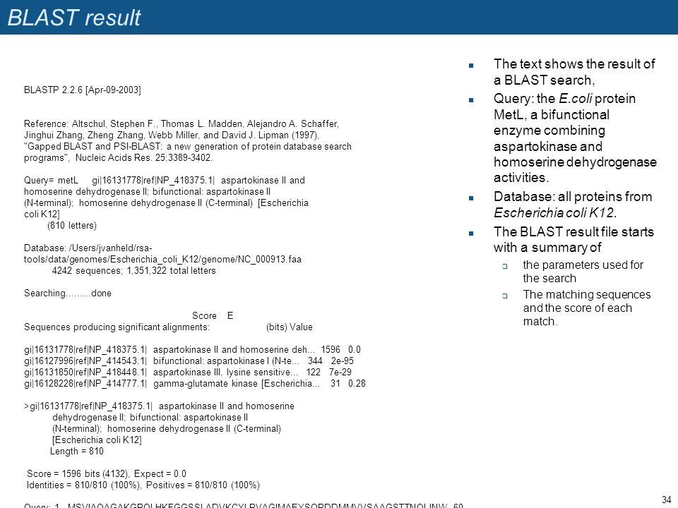 BLASTP 2.2.6 [Apr-09-2003] Reference: Altschul, Stephen F., Thomas L.
