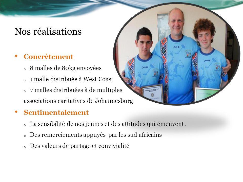 Action Orphenage Provins Rugby KRUGERSDORP Afrique du sud 2012