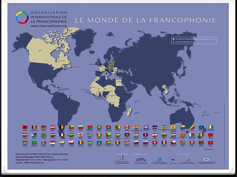 La francophonie!