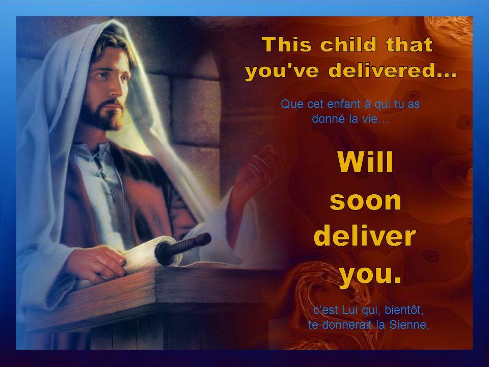 Savais-tu… que ton bébé était venu te donner une nouvelle vie