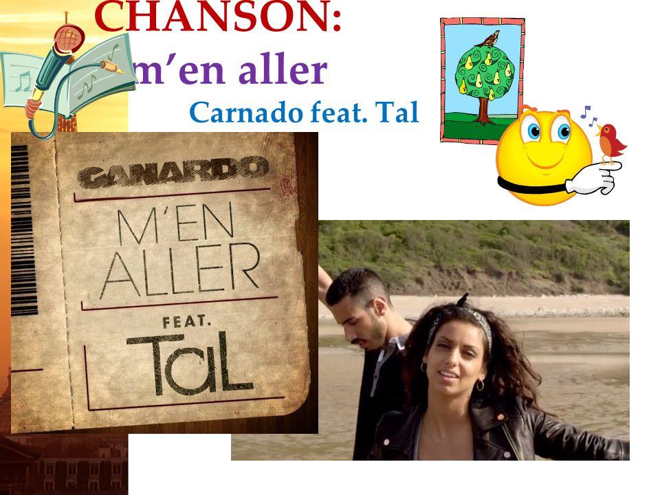 français 3 le 4 octobre 2012 ActivitéCahier CHANSON : « Men aller » Canardo feat.