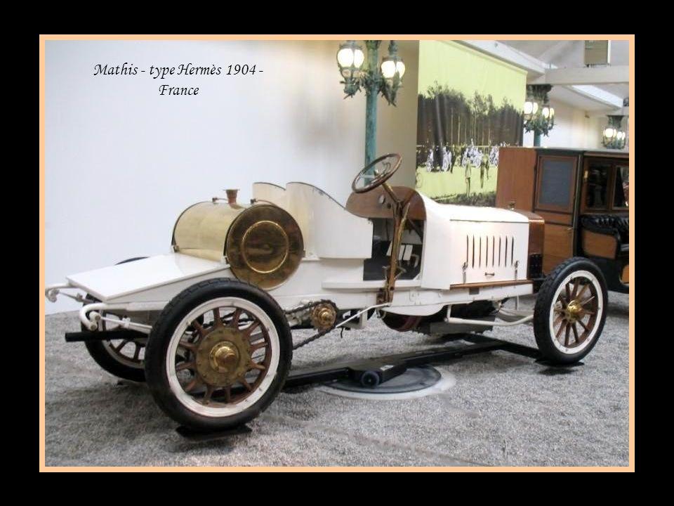 Peugeot tonneau VCI 1907 - France