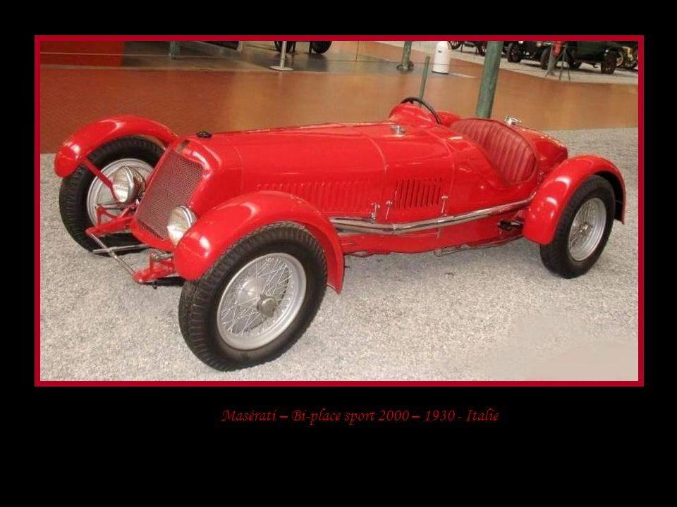 Mercédez-Benz – 1936 – All Cabriolet- Allemagne