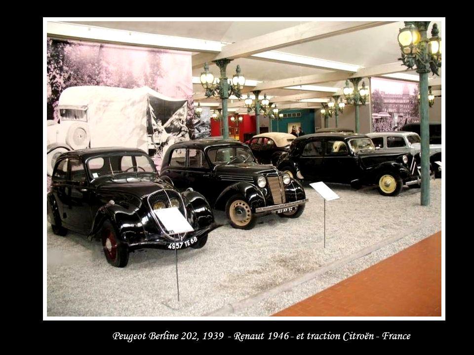 Peugeot – Berline 201M – 1937 - France