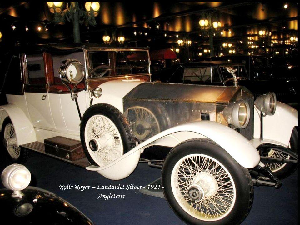 Mercédez- Benz – Cabriolet 504K – 1938 - Allemagne