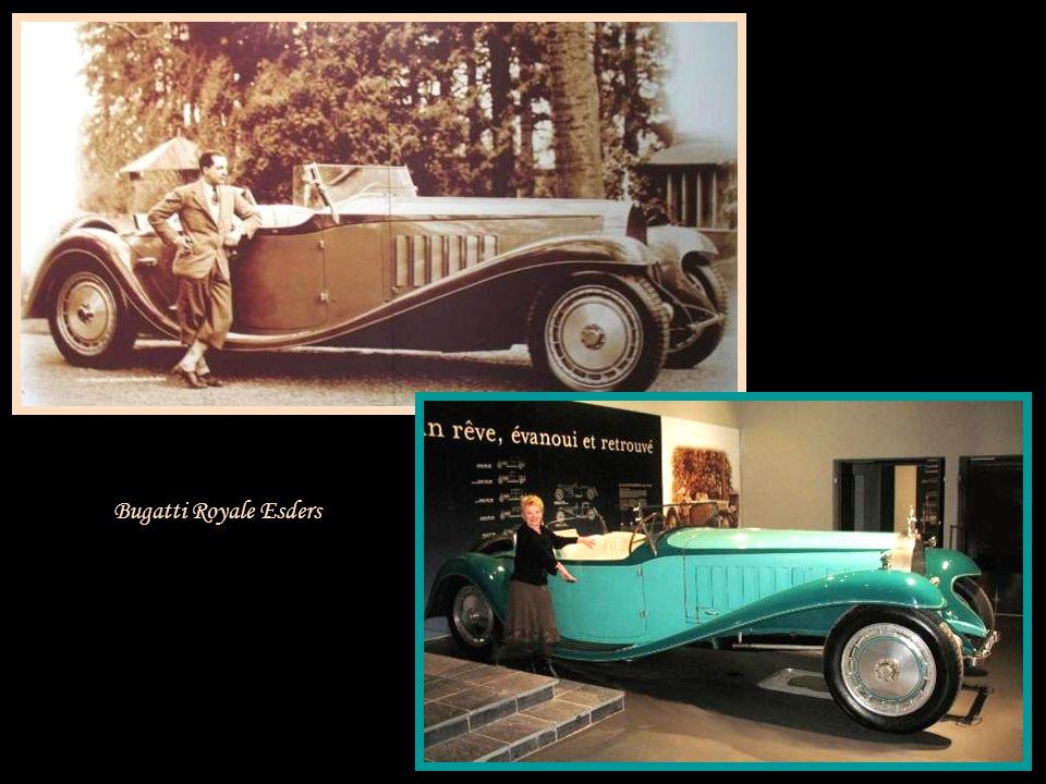 La Bugatti Royale Esders - 1931 - France Et la plus célèbre !!