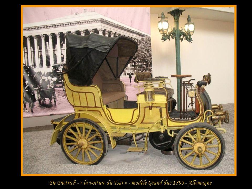 Benz - type vélo – Phaéton 1896 - Allemagne