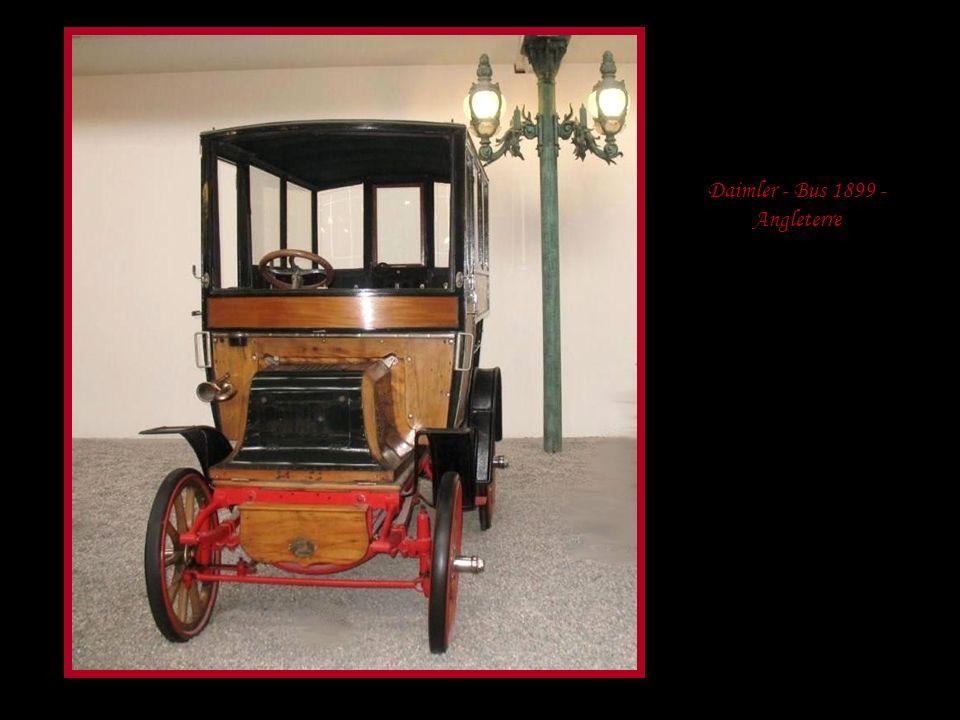 De Dietrich - « la voiture du Tsar » - modèle Grand duc 1898 - Allemagne