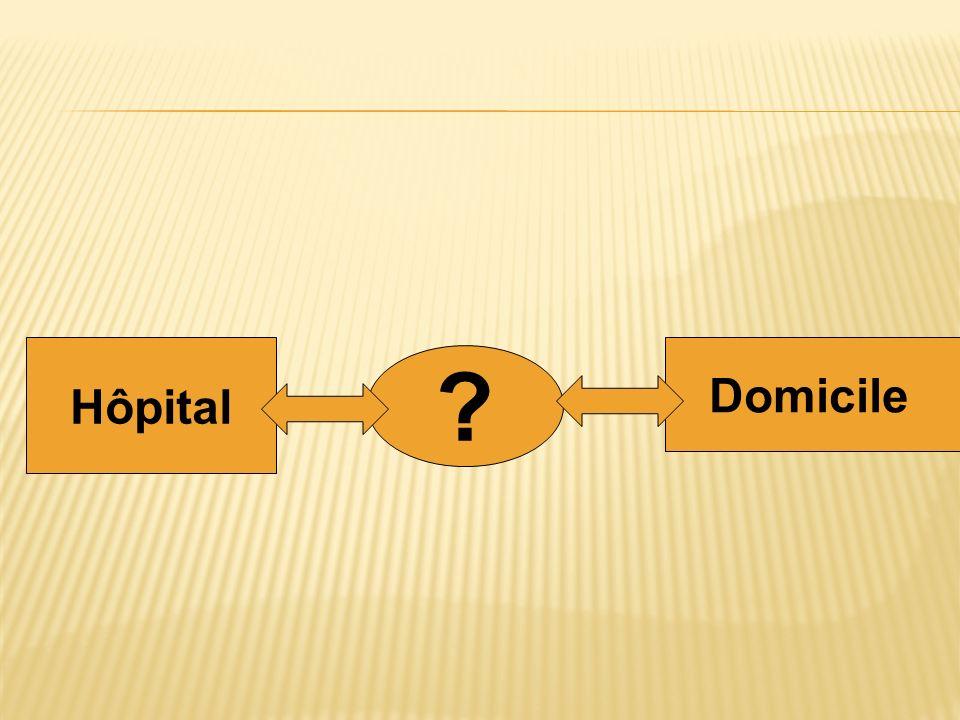 Hôpital Domicile ?