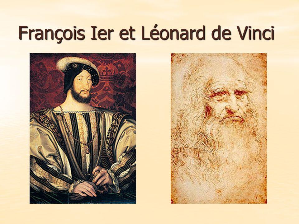 François Ier et Léonard de Vinci