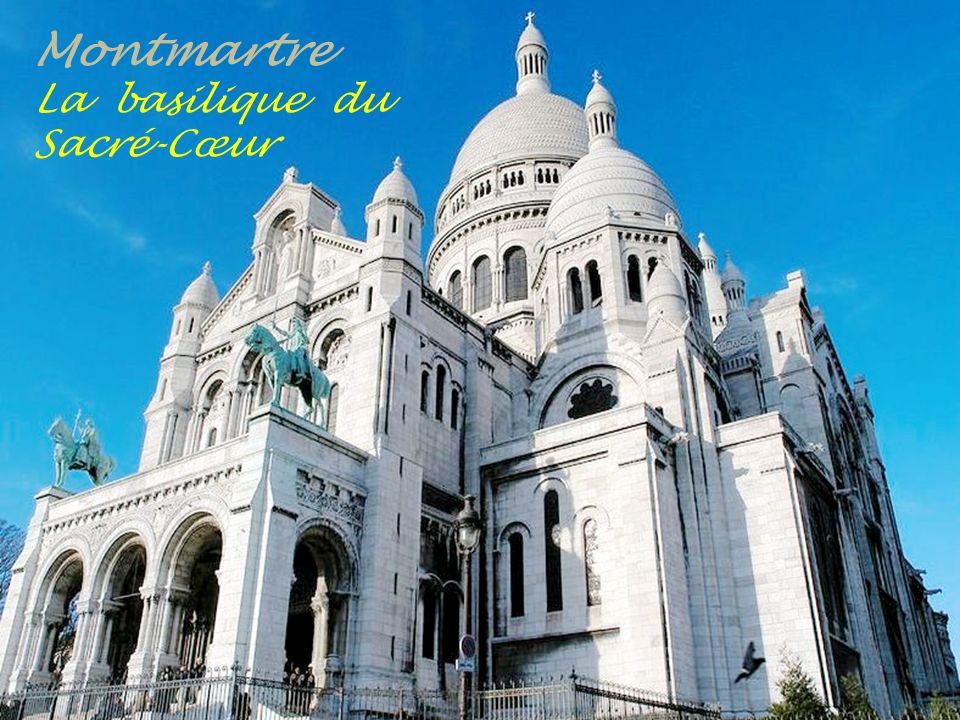 Montmartre La basilique du Sacré-Cœur