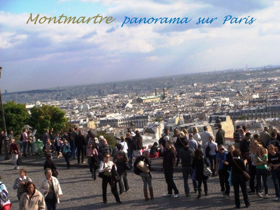 Montmartre Vues sur la capitale
