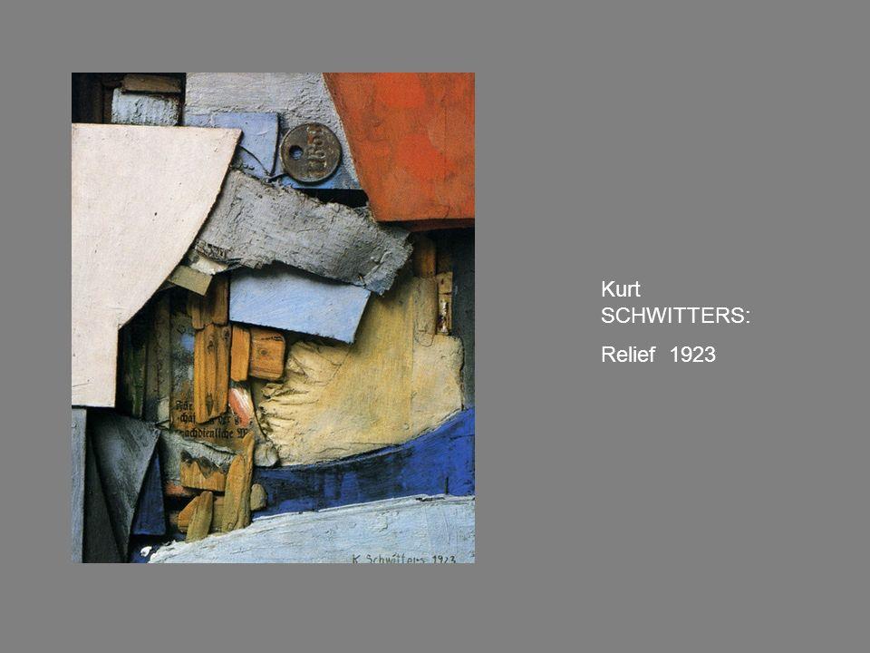 Kurt SCHWITTERS: Relief 1923