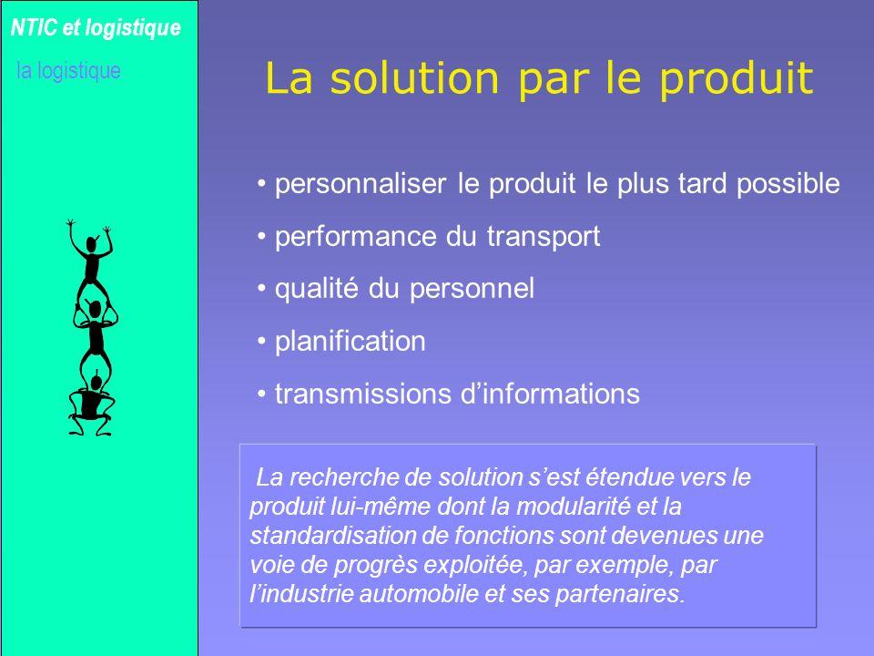Gilles MICHEL Coût logistique en % CA NTIC et logistique la logistique Source : 01 Informatique 18 juin 1999
